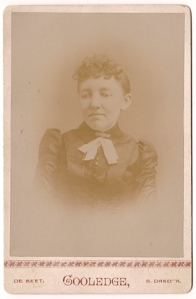 Mary Ingalls in 1889