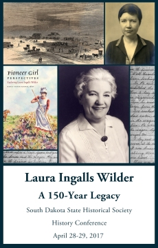 SDSHS 2017 History Conference, April 27-29, Laura Ingalls Wilder